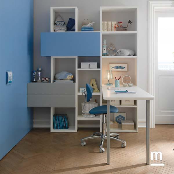 Come progettare la zona studio camerette soluzioni casa for Progettare la cameretta