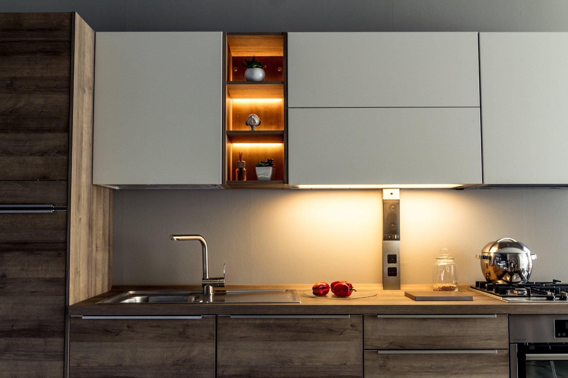 come progettare una cucina a parete? - Soluzioni Casa