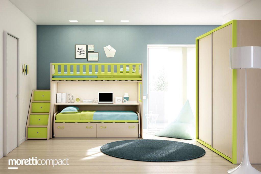 camera letto soppalco